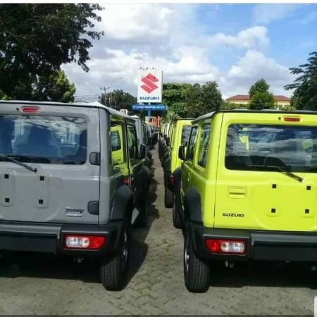Suzuki Jimny terpantau siap dipasarkan