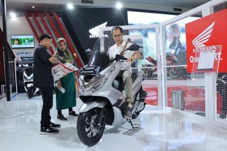 Honda PCX di IIMS 2019