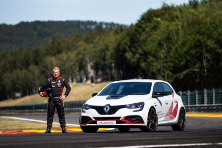 Laurent Hurgon dan Renault Megane RS Throphy-R