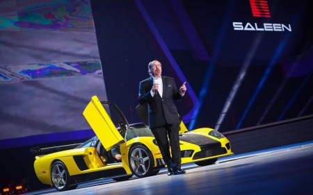 Launching Saleen S7 LM di China