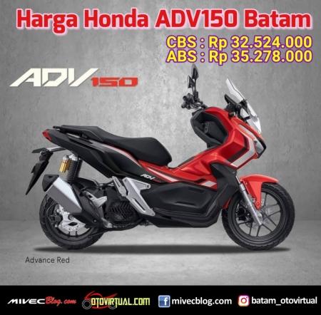 Harga Honda ADV150 Batam