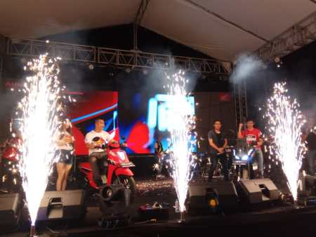 Launching Honda ADV150 dan Genio di Batam