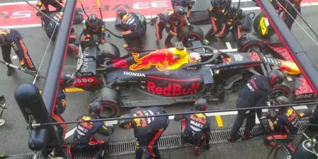 Rekor Pitstop oleh Tim Red Bull