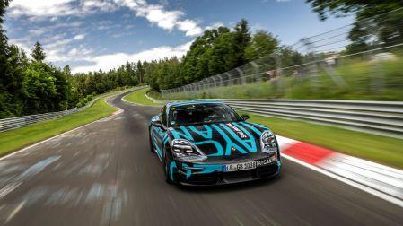 Porsche Taycan Catatkan Rekor di Nurburgring