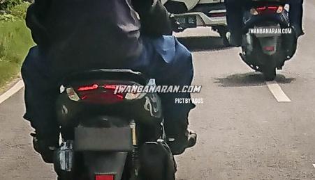 Spyshot New Yamaha NMax, Mirip dengan Paten