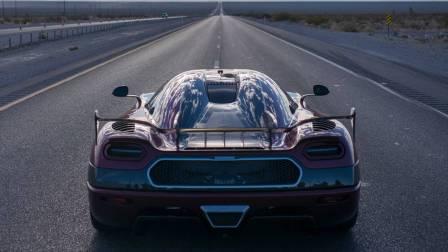 Nevada, tempat Agera RS memecahkan rekor mobil tercepat