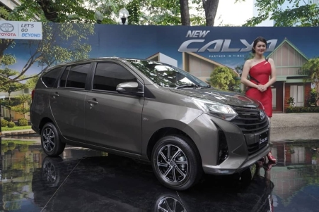 New Toyota Calya Facelift