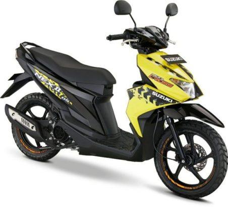 Suzuki Nex II Cross Yellow