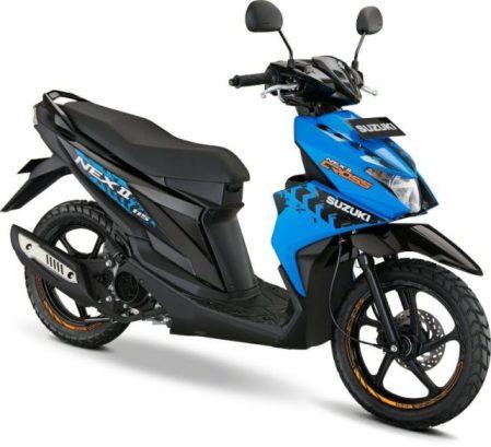 Suzuki Nex II Cross Blue