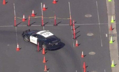 Tesla Model S Kepolisian Fremont