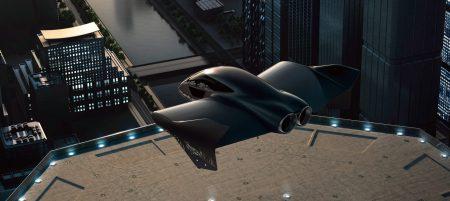 EVTOL, konsep mobil terbang listrik Porsche - Boeing