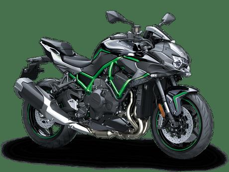 Kawasaki Z H2 Hijau