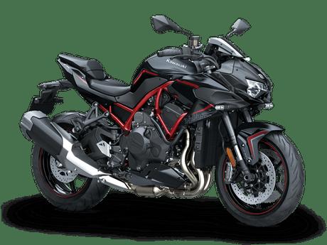 Kawasaki Z H2 Merah