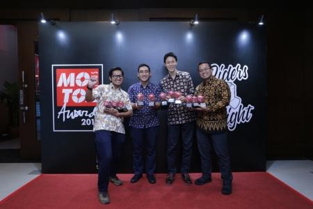 Yamaha Borong 11 Penghargaan dalam Motor Plus Award 2019