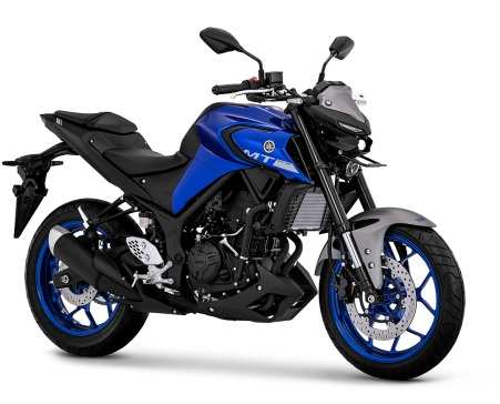 MT-25 Metallic Blue