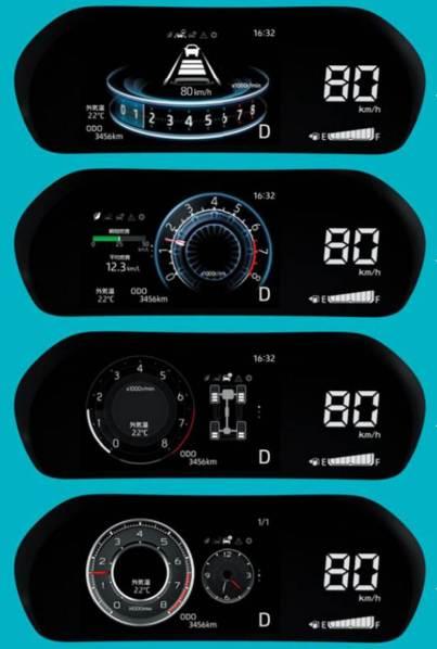 Speedometer Toyota Raize