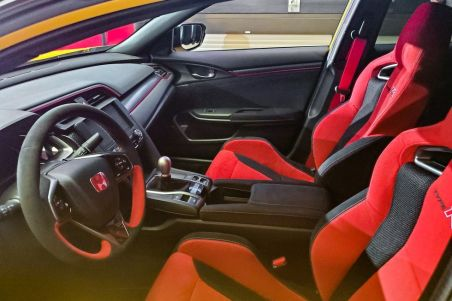 Interior Honda Civic Type R Limited Edition
