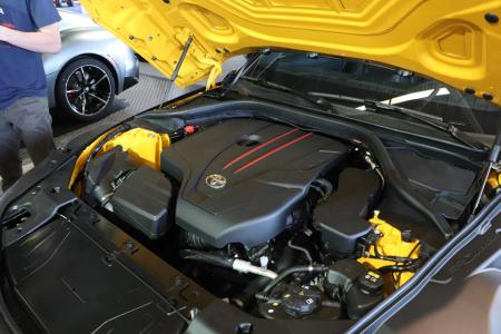 Mesin Toyota GR Supra 2021