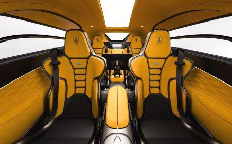 Full 4 seater Koenigsegg Gemera