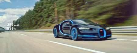 Bugatti pecahkan rekor 0-400-0 tahun 2017 lalu