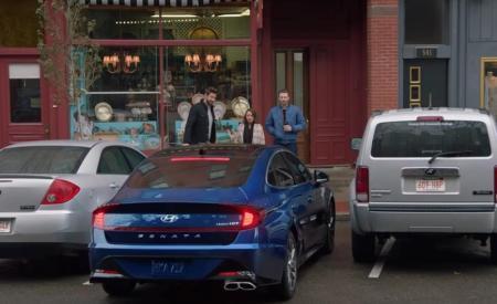 Hyundai Sonata Smart Park