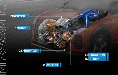Cara Kerja Mesin Nissan Kicks e-Power