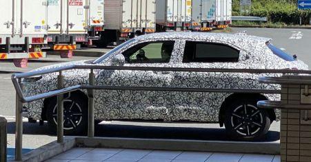 Spyshot New Honda HR-V 2021 (3)