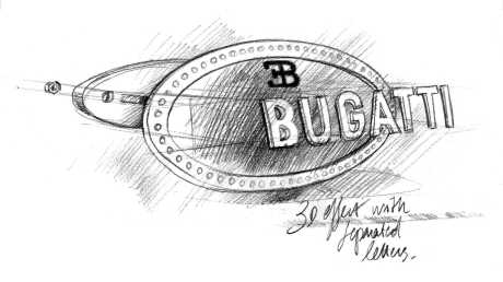 Emblem alias Badge Bugatti